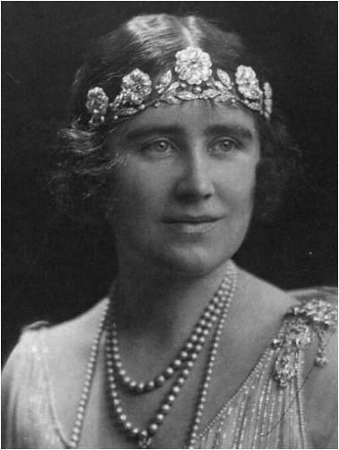 The Strathmore Rose Tiara on the Queen Mother - A look at Meghan Markle's wedding day jewellery