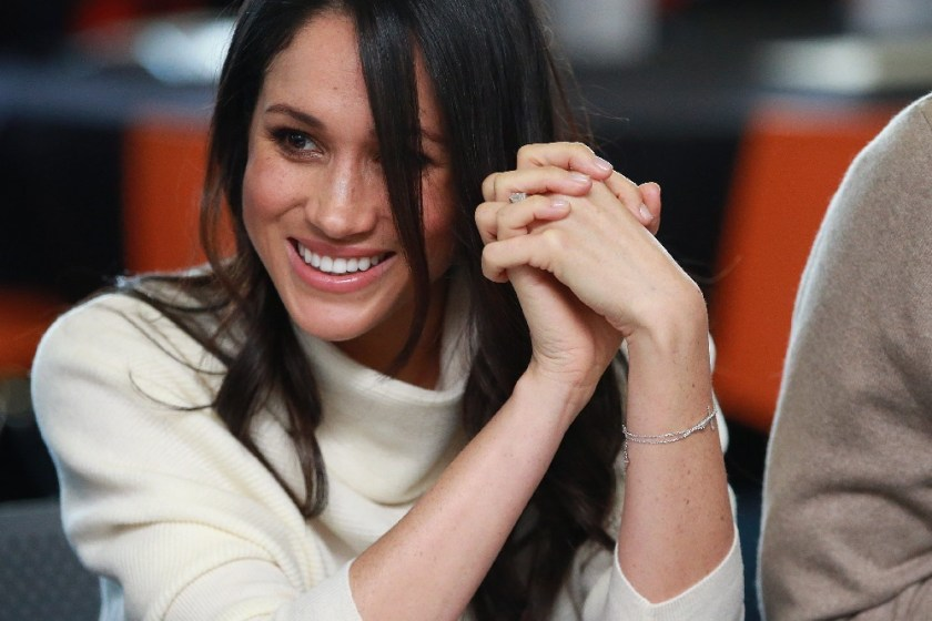 Meghan Markle's diamond cross bracelet - Get the look UK affordable