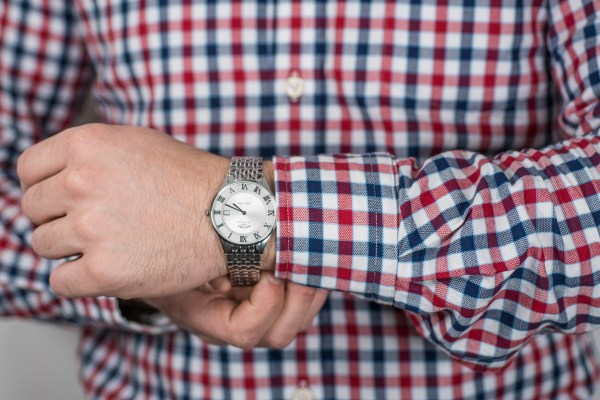 6 Best Men's Rotary Watches Rotary Les Originales Ultra Slim S Steel - £325