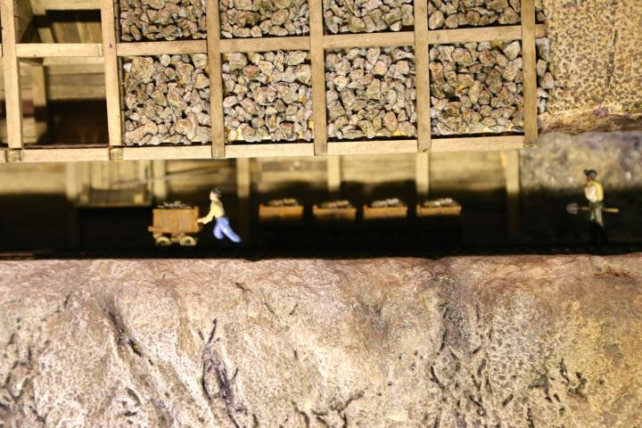 Carting ore in the Mega Mine