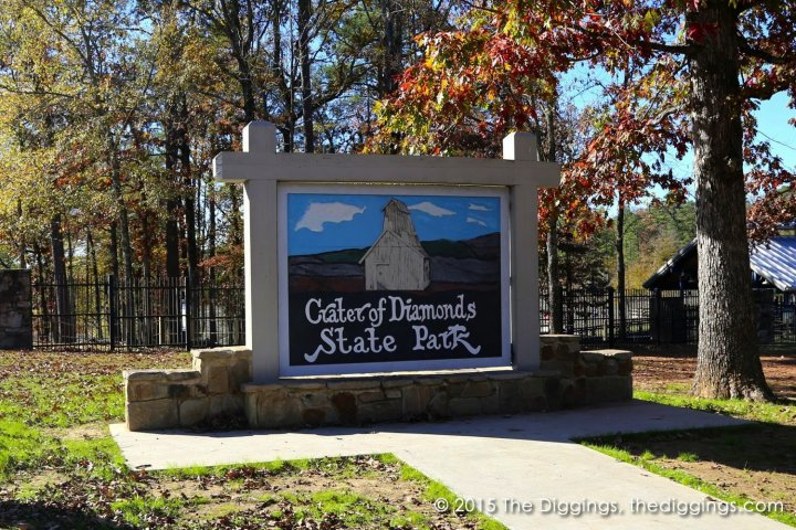 Crater of Diamonds State Park entrance