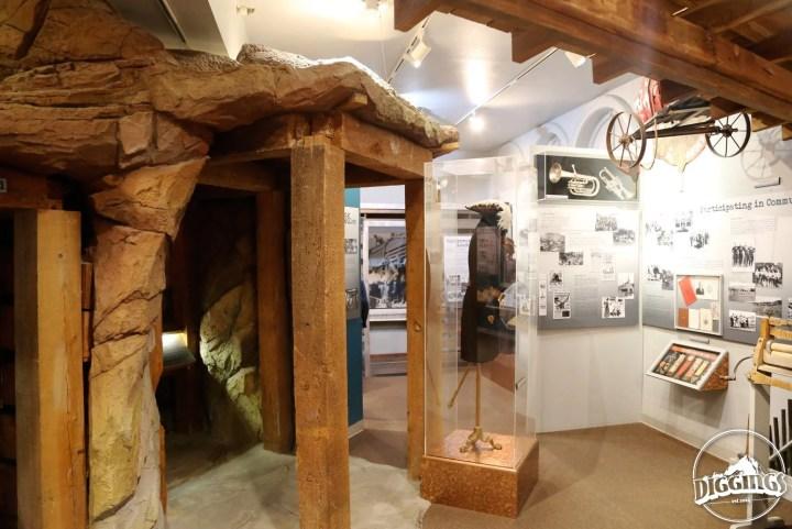 Tunnel Mine Exhibit