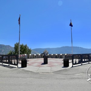 Entering the Granite Mountain Memorial