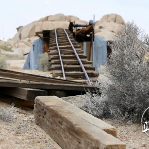 The Wall Street Mill is the finest example of a gold processing mill still standing in Joshua Tree National Park. The two-stamp mill was erected on the outskirts of the scenic Wonderland of Rocks and continues to be accessible to visitors by an easy hiking trail.
