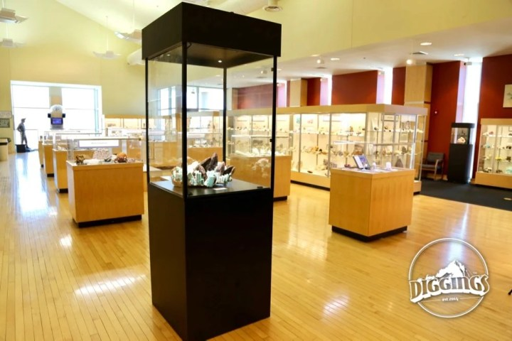 Inside the Colorado School of Mines Geology Museum