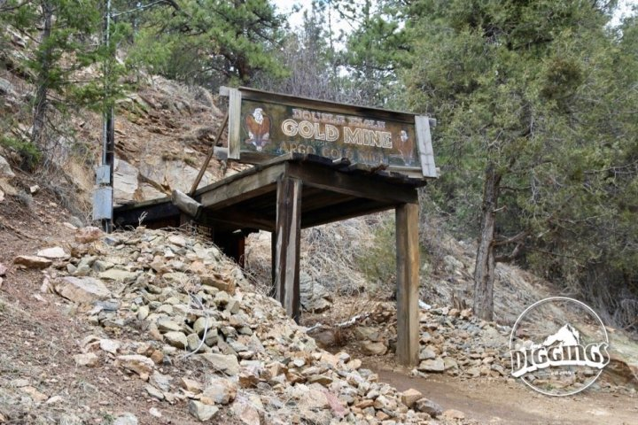 Double Eagle Gold Mine at the Argo Gold Mine & Mill, Idaho Springs, Colorado