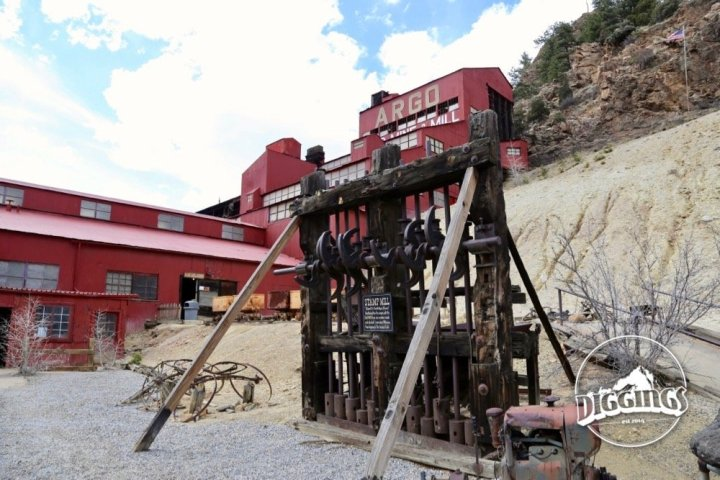 Stamp mill at the Argo Gold Mine & Mill, Idaho Springs, Colorado