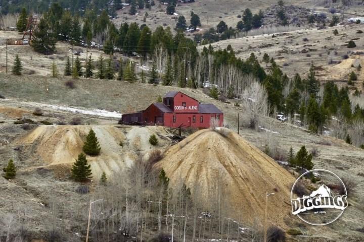Coeur D' Alene Mine in Central City, Colorado
