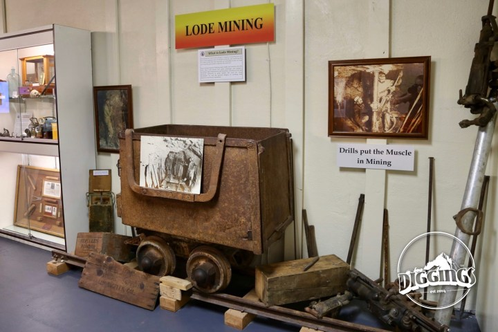 Lode Mining Display at the Idaho Museum of Mining & Geology