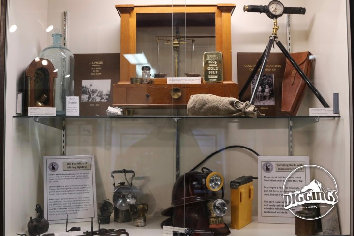 Mining Artifacts at the Idaho Museum of Mining & Geology