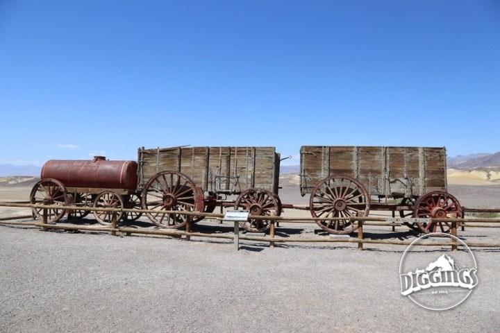 Twenty Mule Team at the Harmony Borax Works