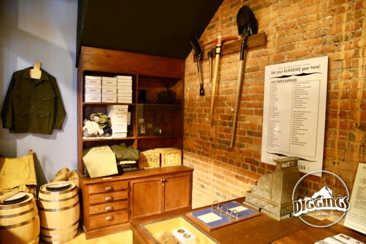 1890s Seattle Store at the Klondike Gold Rush National Historical Park