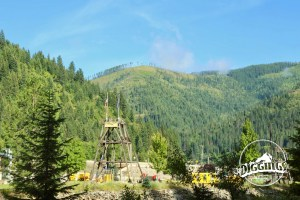 View of the Wallace, Idaho Silver History Site