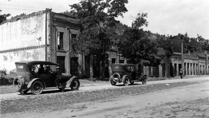 Main Street of Shasta circa 1922