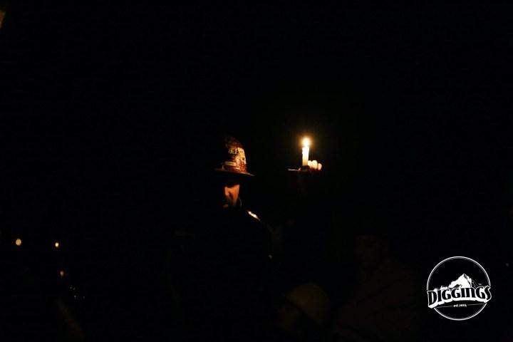 Soudan Underground Mine State Park by Candlelight