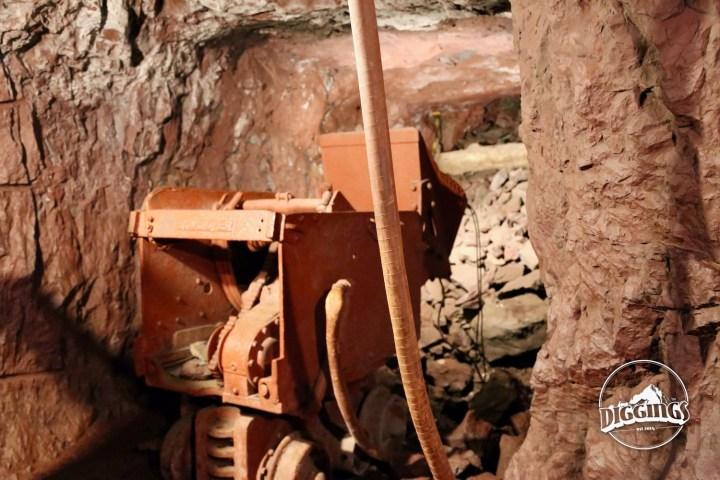 Shovel loader at the Soudan Underground Mine State Park