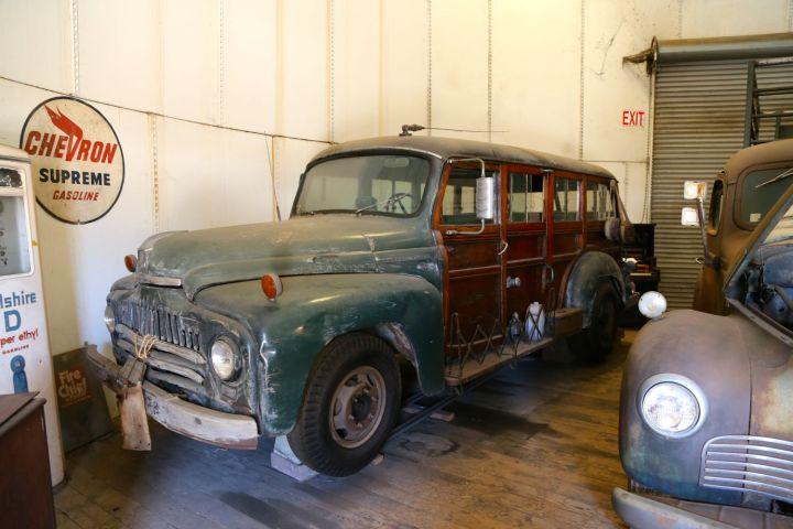 1941 International Woody station wagon