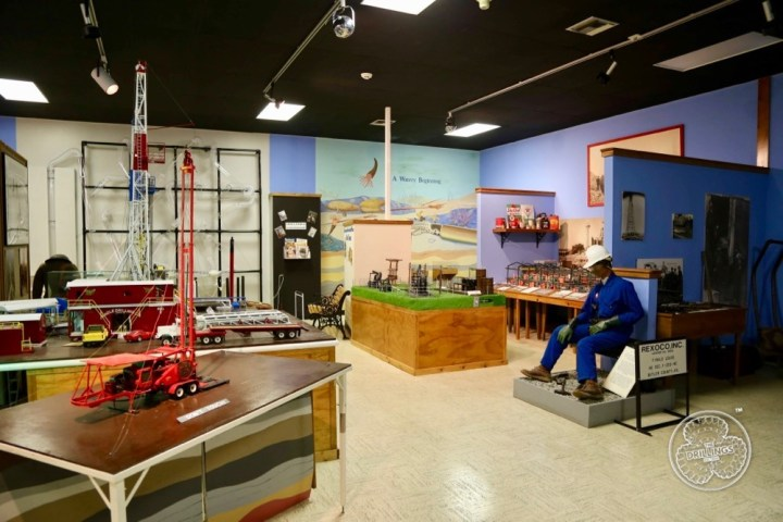 Interior of the Kansas Oil Museum