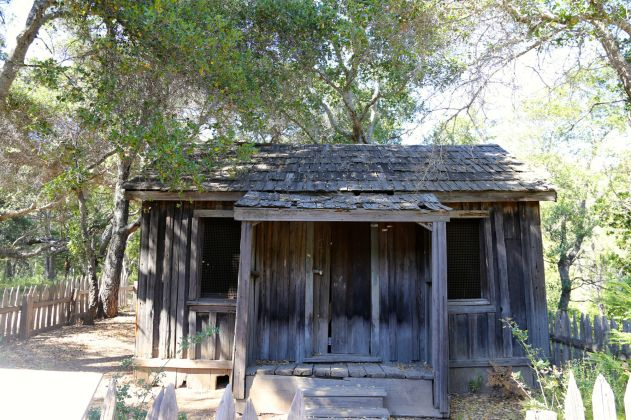 The Innocente family is buried near the still sanding Pfeiffer Homestead Cabin.