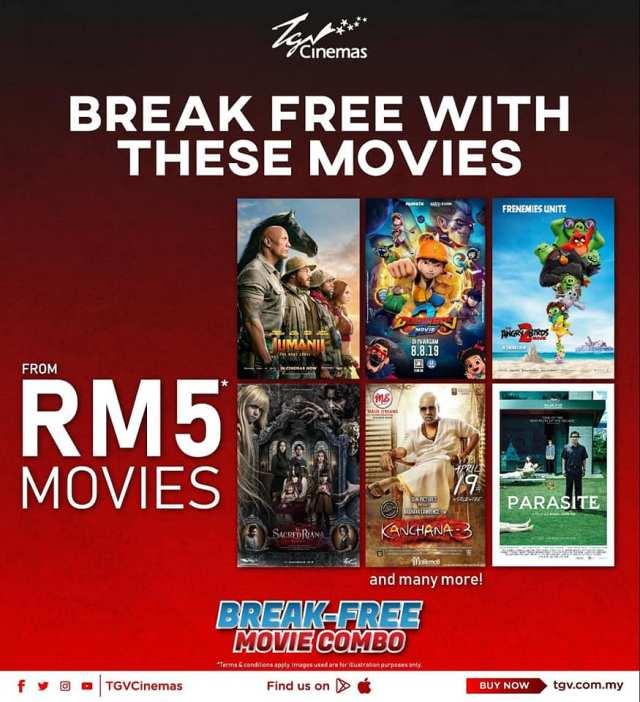 电影上映时间查询_TGV 电影最低仅从RM5起 - 新!时代媒体