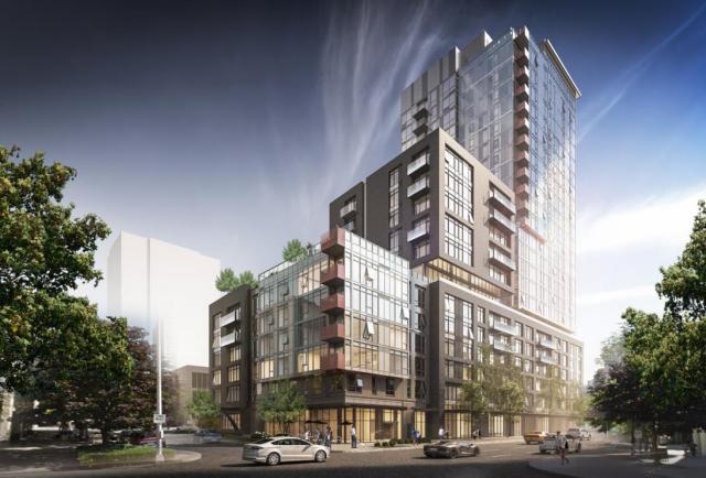 AvalonBay, Seattle, Puget Sound, Downtown Design Review Board, Belltown, Dupre + Scott, Capitol Hill