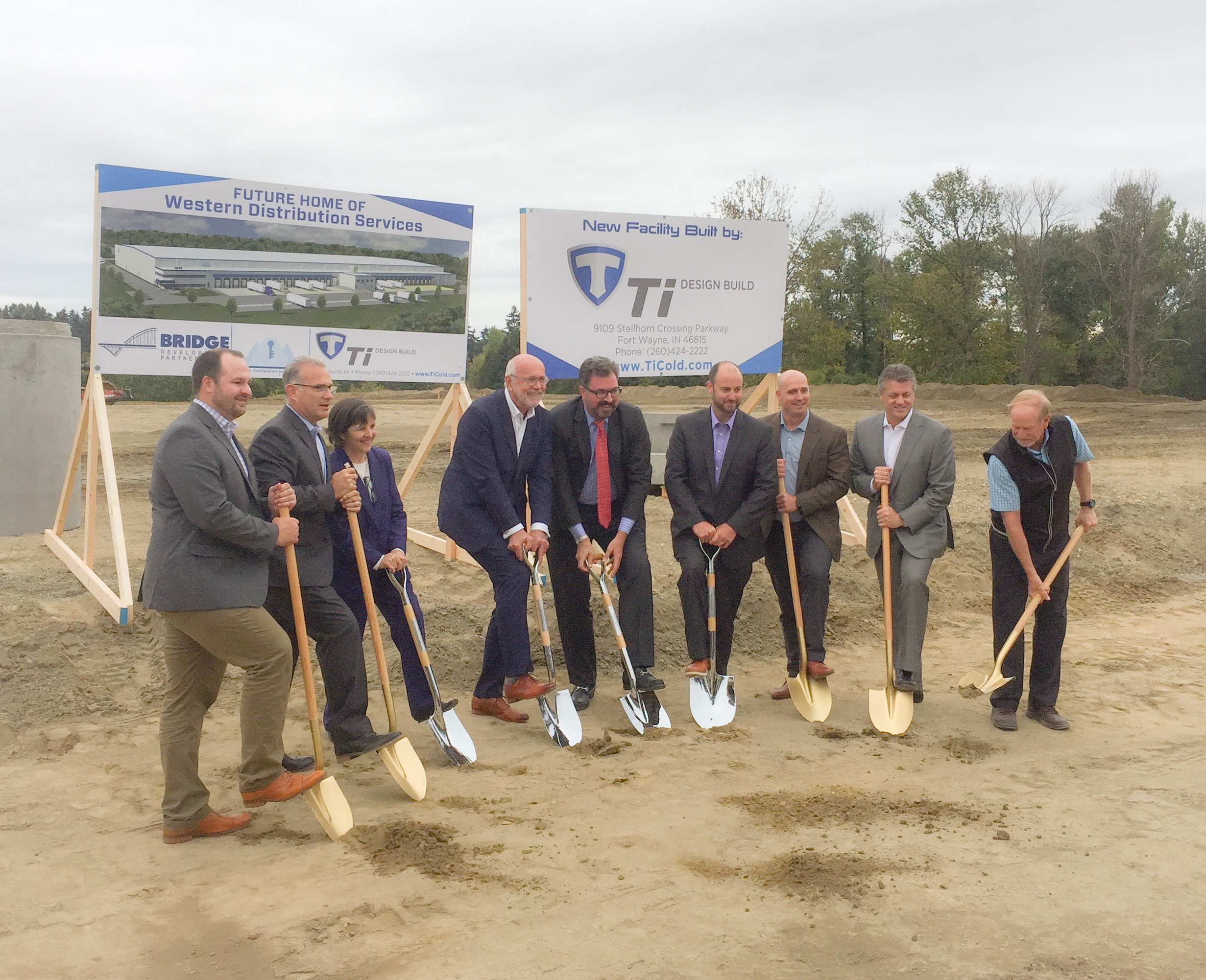 Chicago Based Bridge Development Partners Break Ground On New 241,000 SQ FT  Cold Storage Facility In Burien