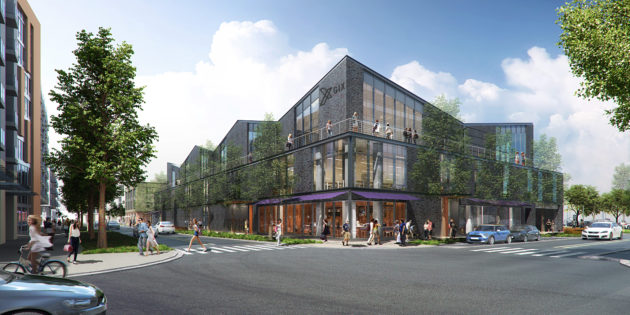 This building will house the Global Innovation Exchange in Bellevue, Wash., and it is expected to open next year | Rendering courtesy of Bora Architects.