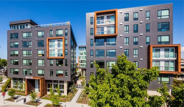 Runberg Architecture Group, NAIOP, Odin Apartments, Ballard, Seattle, Puget Sound