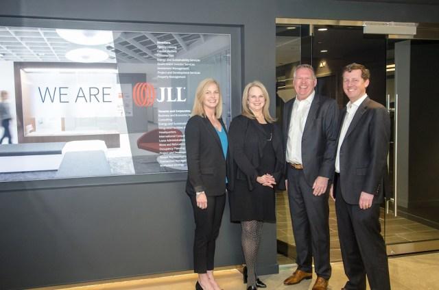Seattle JLL Urbis Partners Washington Partners Puget Sound commercial brokerage Lisa Stewart Cleita Harvey Jim Allison