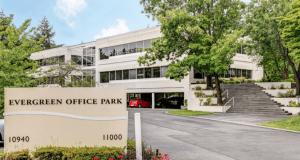Evergreen Office Park, PCCP, Steelwave, Kidder Mathews, Bellevue, King County
