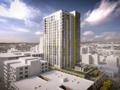 senior living, senior living tower, Ankrom Moisan, Terry Care Group, First Hill, Seattle,