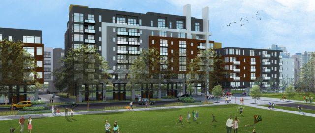 Sparc, The Spring District, Bellevue, Eastside, Security Properties, AMLI, Wright Runstad & Company