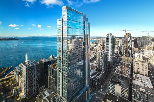 Hughes Marino, Seattle, Puget Sound, Russell Investments Center,