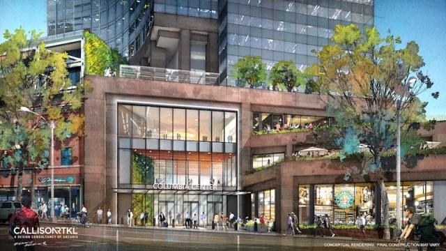 Urban Renaissance Group, Columbia Center, Seattle, Puget Sound,