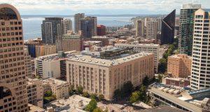 Starwood Capital Group, 300 Pine Street, Macy's, Seattle, Kilroy's Realty, 333 Dexter, Skanska, 2&U, Puget Sound commercial office