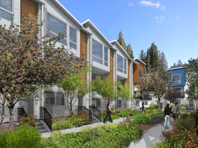 University Trailer Park, Ravenna, King County, Intracorp, Seattle, Ravenna North Townhouse Development, NK Architect, Landscape Design Group Inc., Avid Townhomes, Bellevue