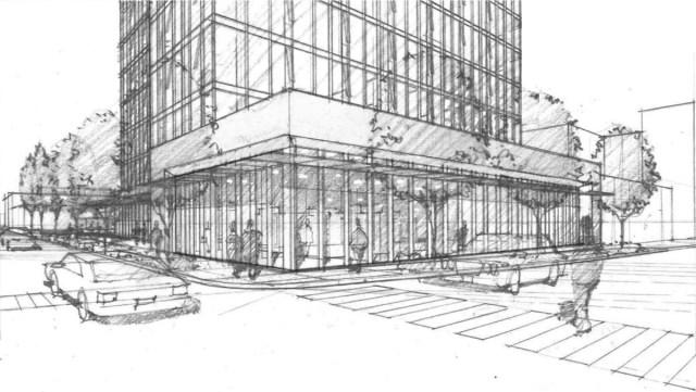 Northeast Design Review Board, FH Brooklyn, NBBJ, Thomas Rengstorf Associates, University District