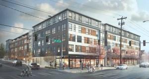Seattle, Karen Kiest Landscape Architects, GGLO Design, Roosevelt Development Group, Design Review Board, Early Design Guidance