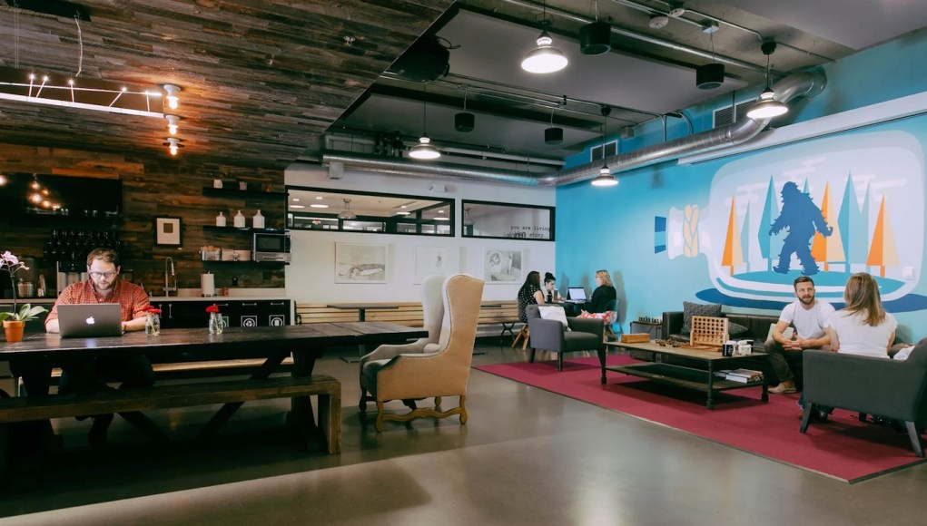 WeWork, Puget Sound, Seattle, Hudson Pacific, Hill7, Denny Triangle, Pinterest, Amazon, commercial office tech space creative