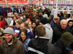 Black Friday, Wall Street Journal, UPS, Amazon, Whole Foods, Wal-Mart, IHL Group, Apple, Occam, Radio Shack, Payless Shoe Source,, Sear's, Kmart, JC Penney