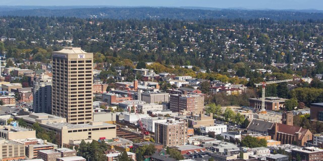University District Parking Associates, Seattle, Touchstone, Portman Holdings, U-District, University of Washington, Urban Renaissance Group, Georgia Tech, Trinity Real Estate