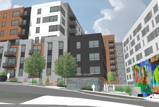 Lowe, Seattle, Yesler Terrace, Ankrom Moisan Architects, Compass