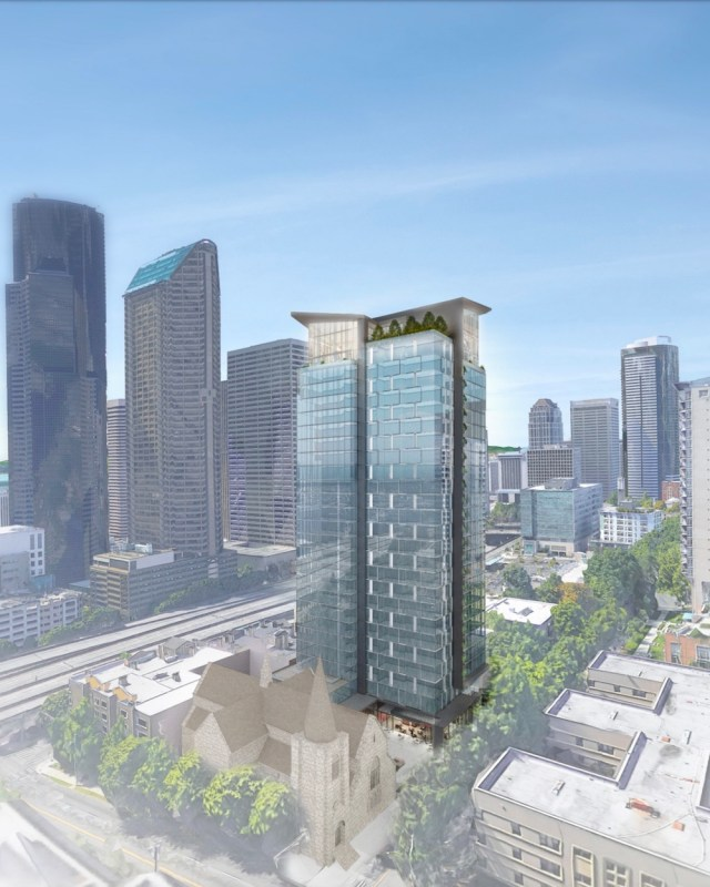 Seattle, Solomon Cordwell Buenz, Compton Design Office, Caydon Property Group, First Hill, Early Design Guidance, Master Use Permit