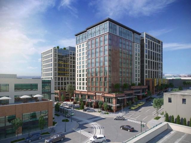 Seattle, Stanford Hotels, Mortensen Construction, Jensen Fey Architects, Amazon, Amazon HQ Campus Hotel, South Lake Union