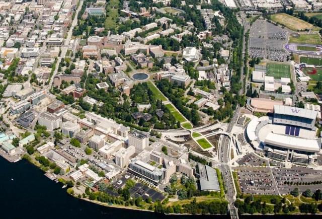 Seattle, University of Washington, Central Campus, East Campus, West Campus, South Campus, 2018 Campus Master Plan, Seattle City Council