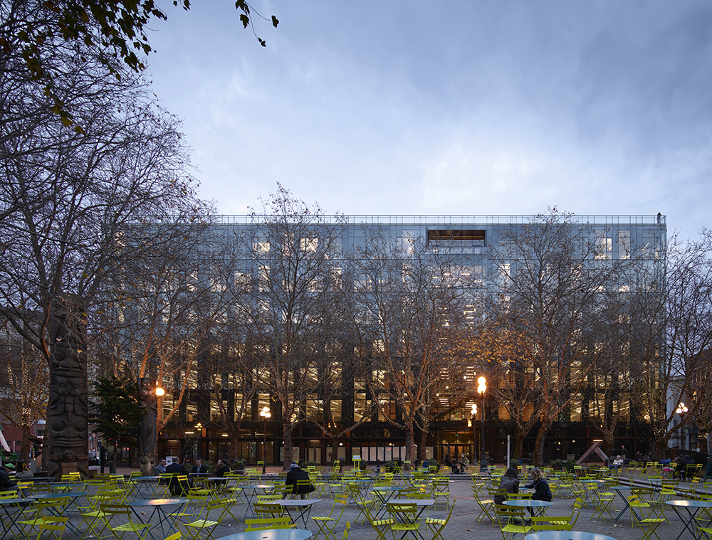 HFF Announces $82MM Refinancing For 200 Occidental in Seattle's