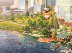 Seattle, University of Washington, 2018 Campus Master Plan, CMP 10-year Conceptual Plan, Portage Bay Park, West Campus Green