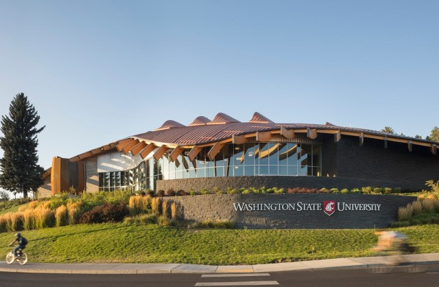 WSU Elson S. Floyd Cultural Center, 2018 ACEC Washington Engineering Excellence Silver Award for Complexity, Engineering Excellence Awards, Washington State, Absher Construction Company, GGLO, PCS Structural Solutions,