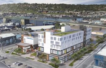 Seattle, Regency Centers, Principal Financial, Ballard Blocks II, PCC Community Markets, Ballard, Burke Gilman Trail, Weber Thompson