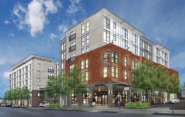 Seattle, Baylis Architects, Greenwood Shopping Center Inc, Brumbaugh & Associates, Early Design Guidance Meeting, Greenwood